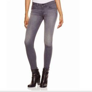 Rag & Bone Skinny Jeans 25 (Silverlake-Gray)